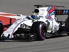 Slapen naast de bolide van Massa bij Britse Grand Prix