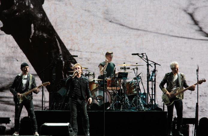 U2 trad vorige week nog op in Kansas City, Missouri.