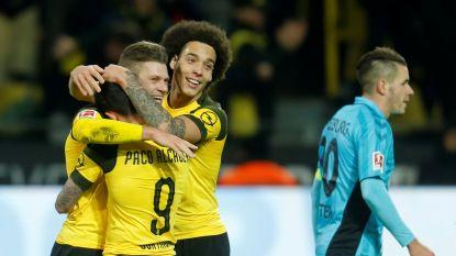 Tiende zege voor Witsel en Dortmund, Bayern haalt het nipt in Bremen