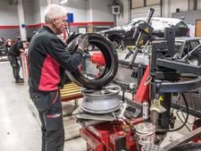 Grote toeloop bij garages: 'Veel mensen te laat met winterbanden'