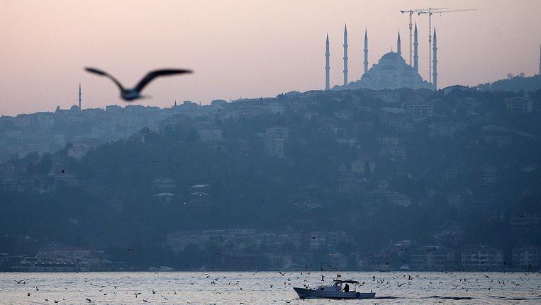 Istanbul. Met op de achtergrond de Çaml¿ca moskee Beeld epa
