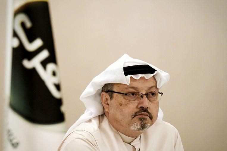 Khashoggi, een criticus van het Saoedische regime, werd op 2 oktober gedood in het consulaat na een gevecht.