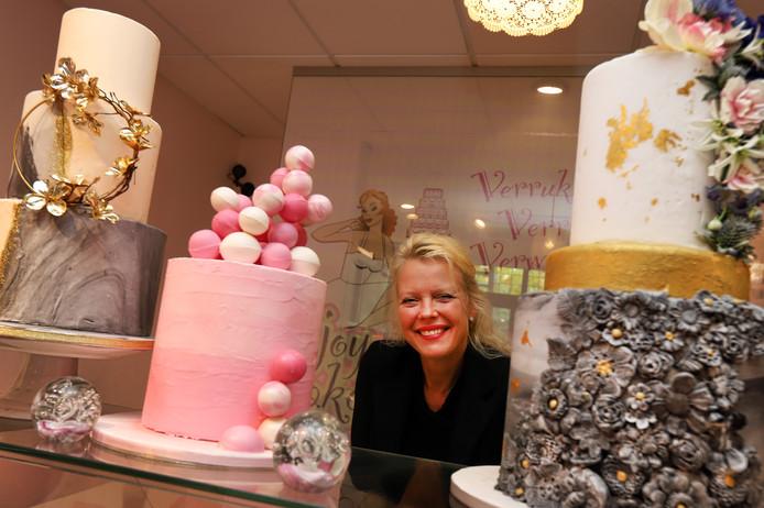 Joyce Smaling: ,,We maken zo'n 150 tot 180 bruidstaarten per jaar.''