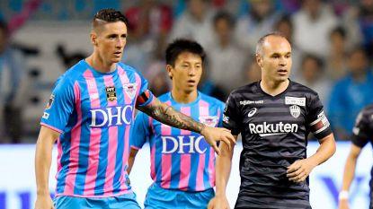 Vlotte zege voor Vissel Kobe ondanks owngoal Vermaelen, Fernando Torres neemt afscheid