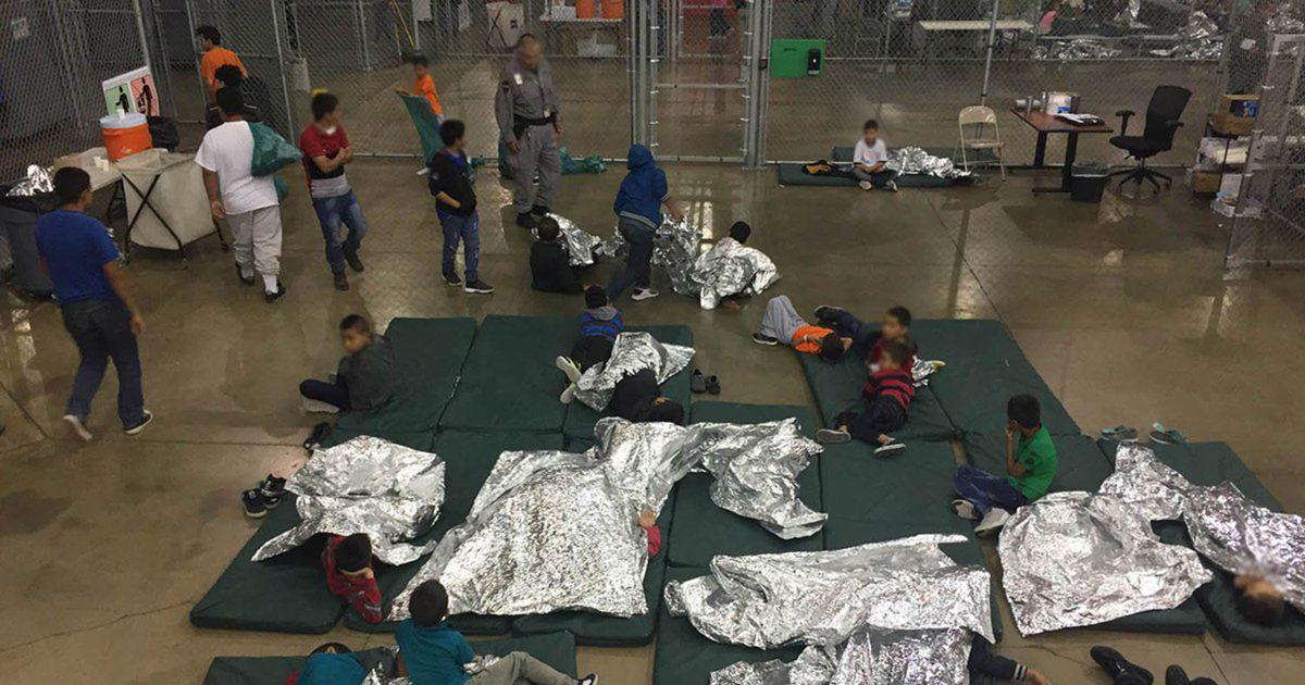 Geluidsopname opgedoken van huilende migrantenkinderen die om hun ouders roepen