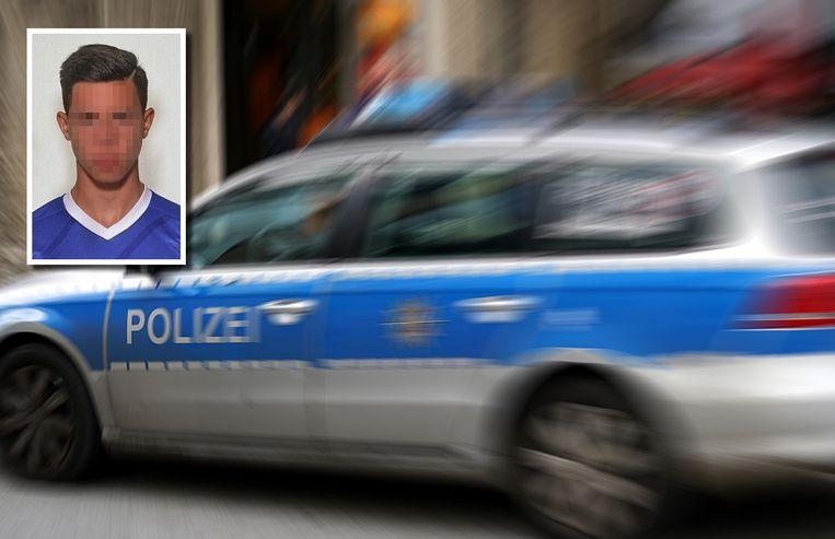De politie is op zoek naar de 18-jarige Dean Martin Lauenburger.