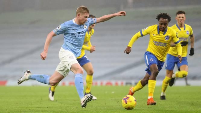 De Bruyne geeft 75ste assist in Premier League, Man City pakt 12 op 12