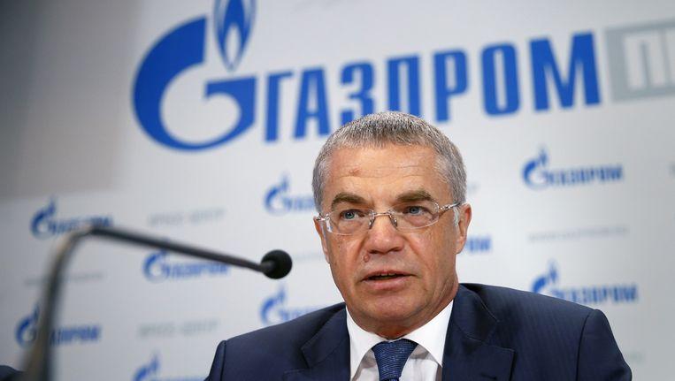 Gazprom-vicevoorzitter Alexander Medvedev.