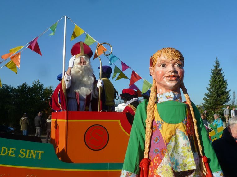 Sinterklaas en Mie Potlood