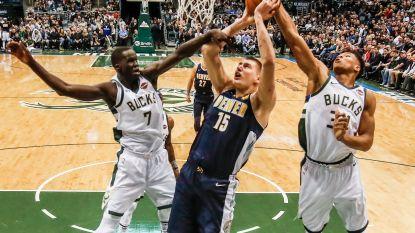 Jokic (Denver) pakt uit met snelste triple double in NBA-geschiedenis