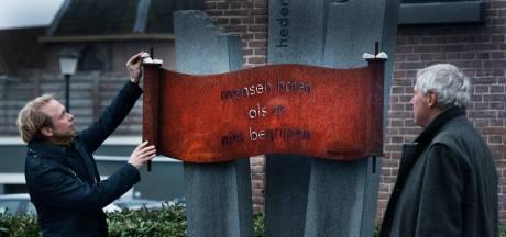 Sobere eerste Holocaustherdenking in Culemborg: 'Het begin is er, dat is het belangrijkst'