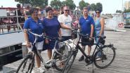 Varen en fietsen zijn in trek, rederij Seastar verwelkomt 1500ste fietser
