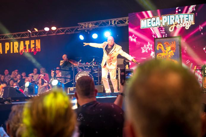Willie Oosterhuis op het Megapiratenfestijn in Oldebroek