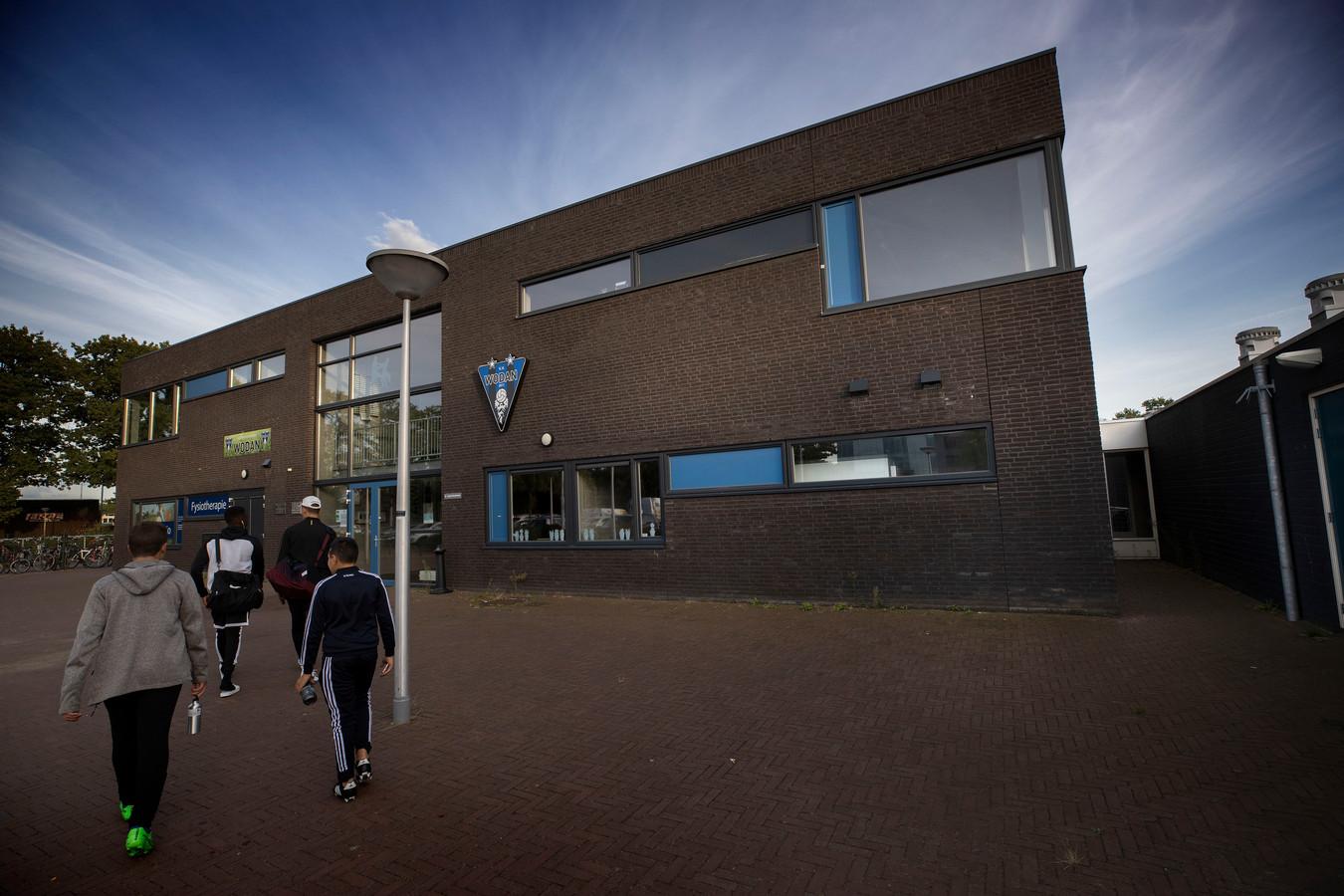 Het clubhuis van Wodan in Eindhoven.