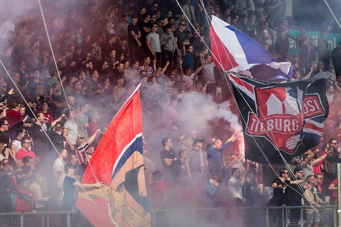 De Tiburgse supporters hebben invloed bij Willem I