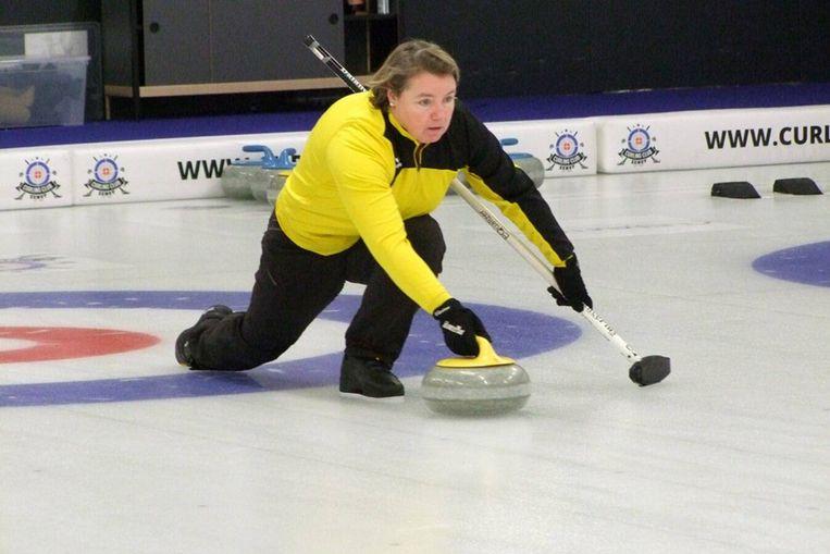 Veerle Geerinckx vertrekt donderdag naar Aberdeen voor het WK curling.