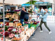 Markt in Rotterdam helemaal open: patatje mayo nu ingepakt mee