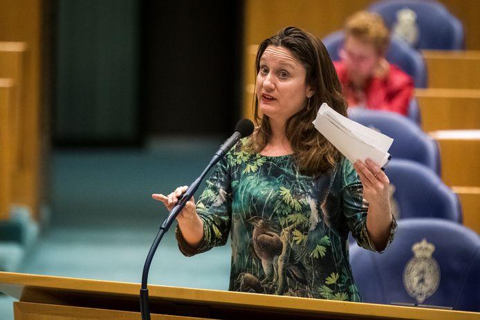 Kamerlid Suzanne Kröger van GroenLinks