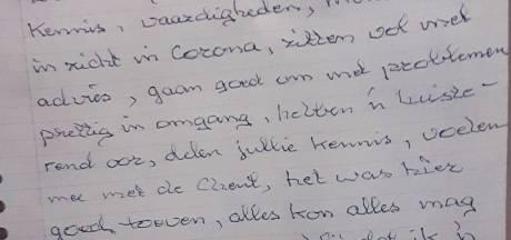 De laatste letters van Petra's vader: 'Corona is een sluipmoordenaar'