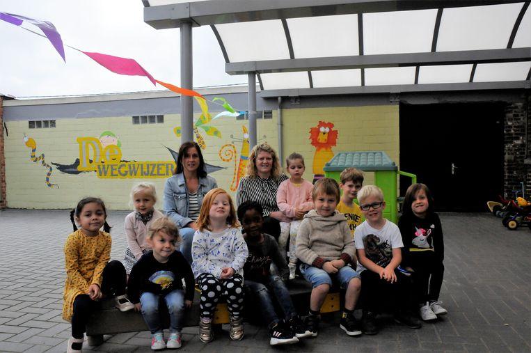 De kindjes van De Wegwijzer hopen nog meer klasgenootjes te krijgen