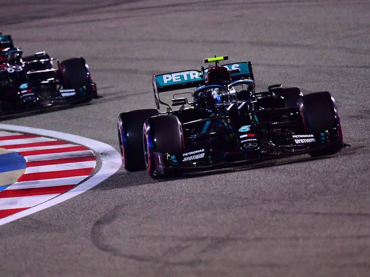 Verstappen kan Mercedessen nét niet aftroeven