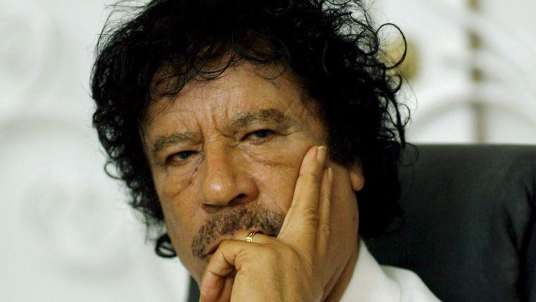 Muammar Kaddafi in 2008. Beeld epa