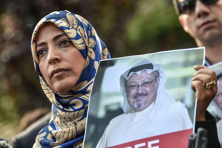 Onder andere de Jemenitische mensenrechtenactiviste en Nobelprijswinnares Tawakkul Karman protesteerde afgelopen week tegen de verdwijning van Khashoggi.