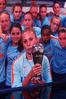 Lieke Martens beste voetbalster ter wereld