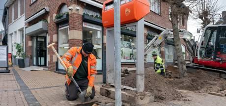 Boxtelse bomen verhuizen in Rechterstraat, werkzaamheden aan dorpshart zijn begonnen