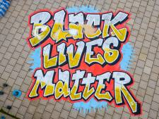 Black Lives Matter-demonstratie op Ginkelse Heide in Ede