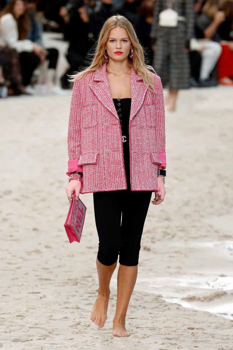 Chanel-show tijdens Paris Fashion Week.