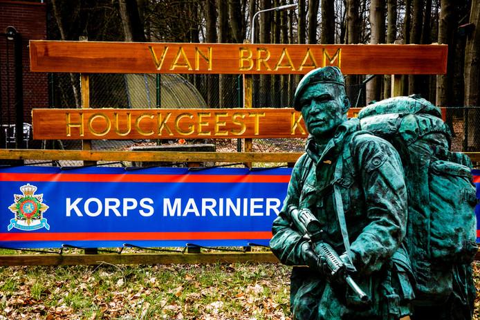 De marinierskazerne in het Utrechtse Doorn.
