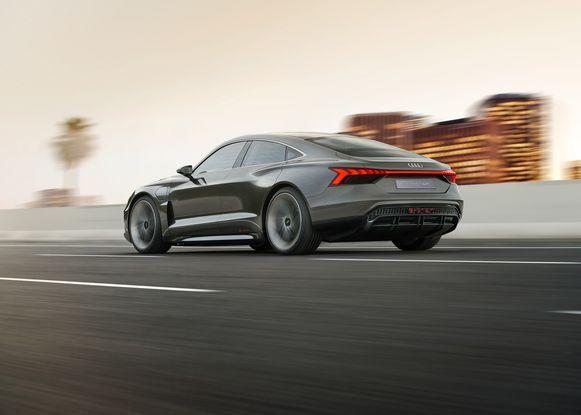 De e-tron GT (op Porsche Taycan-basis) komt in 2020.