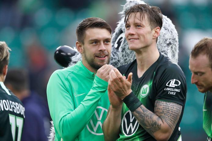 Wout Weghorst scoorde dit seizoen vier keer.