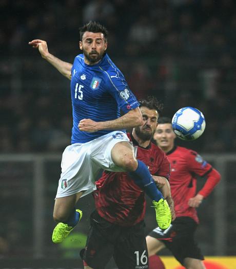 Italië zonder Barzagli tegen Oranje