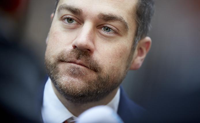 Staatssecretaris Klaas Dijkhoff van Veiligheid en Justitie .