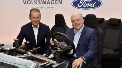 Ford en Volkswagen gaan samenwerken voor projecten voor bedrijfswagens