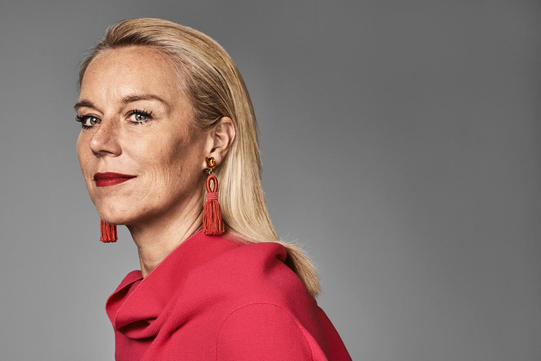Het is volgens Sigrid Kaag 'ontzettend belangrijk' dat er eindelijk eens een vrouwelijke premier in het Torentje zit. 'Anders zijn we niet het land dat we zeggen dat we zijn.' Beeld Marc de Groot/ Witman Kleipool