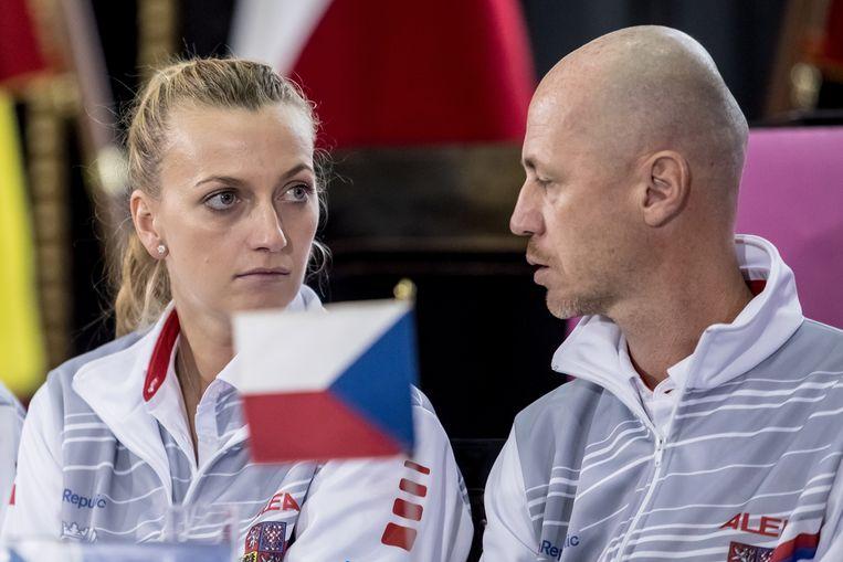 Petra Kvitova kan mogelijk wel in actie komen op zondag.