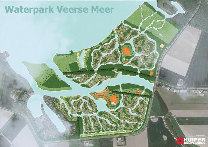 Ontwerp voor Waterpark Veerse Meer.