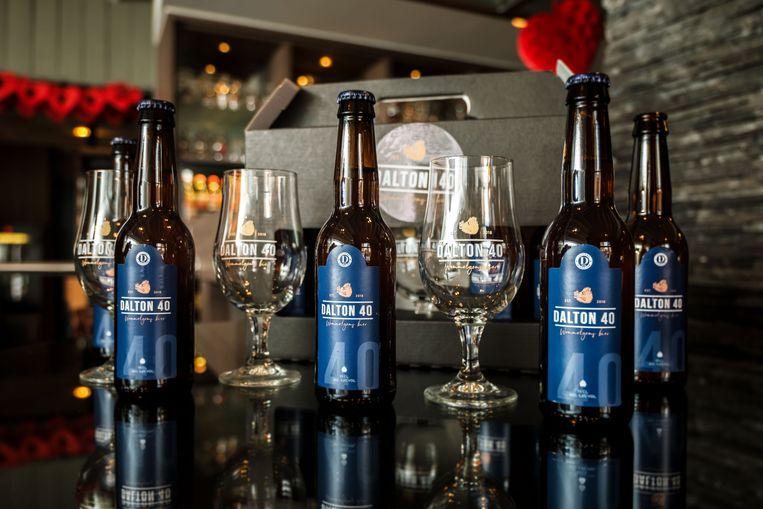 Ter ere van hun veertigjarig bestaan hebben de voetballers van Dalton het bier Dalton 40 gebrouwen.