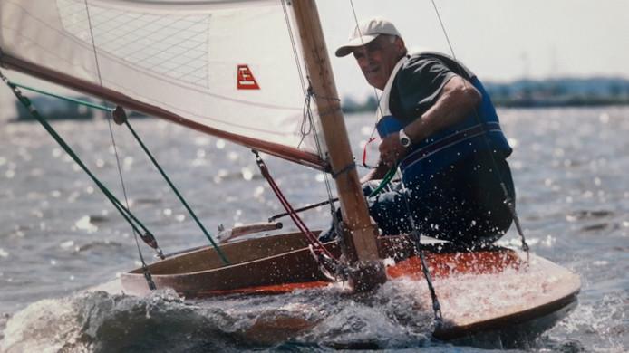 Harry Gierveld uit Aadorp in actie in zijn lark.