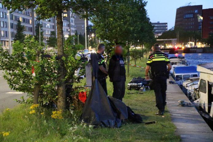In de omgeving werd een man aangehouden.