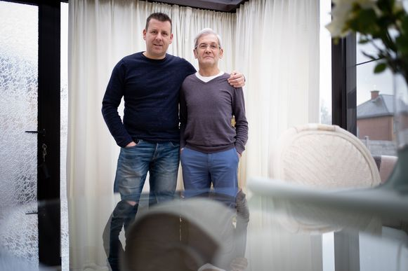 BREENDONK Gunter Vergauwen redde het leven van zijn schoonvader Jean De Jonghe