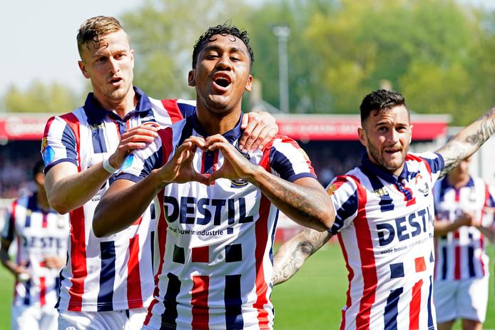 Renato Tapia scoorde weer op Rotterdamse bodem na zijn treffer voor Feyenoord op het Kasteel tegen Sparta in 2017.