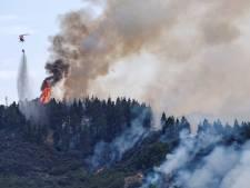 Nouvel incendie sur l'île de Grande Canarie, un hôtel de luxe évacué