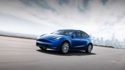 """Tesla Model Y komt al begin 2020 op de markt"""