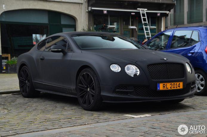 Une autre Bentley de Romelu Lukaku.