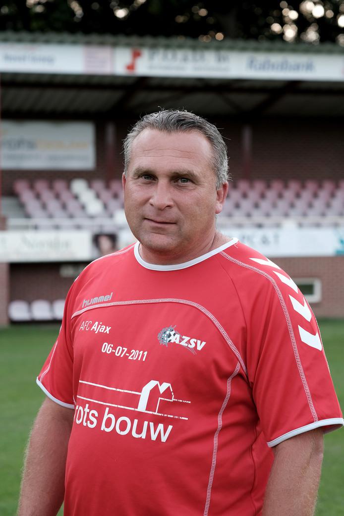 AZSV-trainer Dennis van Toor. Foto : Jan Ruland van den Brink