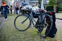 Taxi schept overstekende fietsster Tilburg